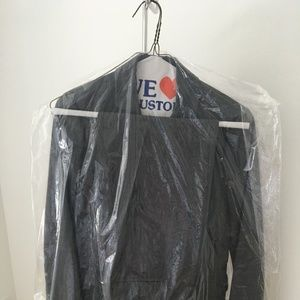 3pc Charcoal Grey J.Crew Italian Stretch Wool Suit
